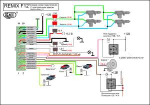 F12 схема подключения